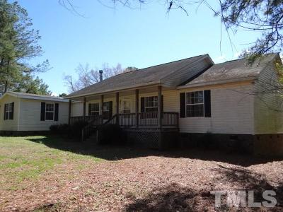 Single Family Home Pending: 1913 Old Crews Road
