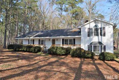 Clayton NC Single Family Home For Sale: $250,000