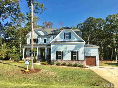 Wake Forest Single Family Home For Sale: 2021 Pleasant Forest Way