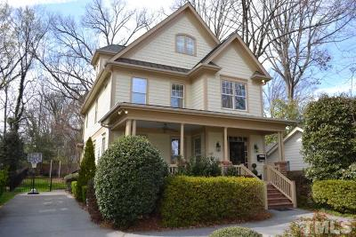 Raleigh Single Family Home For Sale: 1717 Carson Street