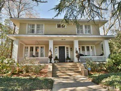 Raleigh Single Family Home For Sale: 1819 Glenwood Avenue