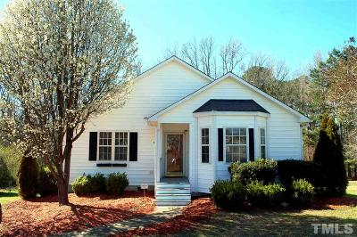 Creedmoor Single Family Home Contingent: 310 Bridget Way