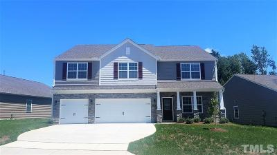 Clayton NC Single Family Home For Sale: $295,990