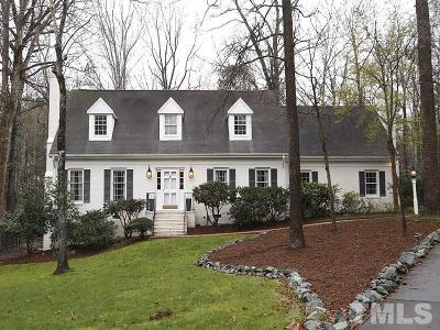 Chapel Hill Single Family Home For Sale: 2 Sutton Place