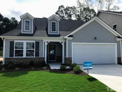 Raleigh NC Single Family Home For Sale: $299,990
