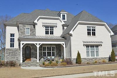 Apex Single Family Home For Sale: 3126 Curling Creek Drive