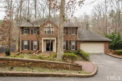 Raleigh NC Single Family Home For Sale: $675,000
