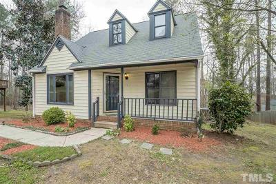 Wake Forest Single Family Home For Sale: 1426 Cedar Branch Court