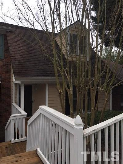 Cary NC Townhouse For Sale: $167,900