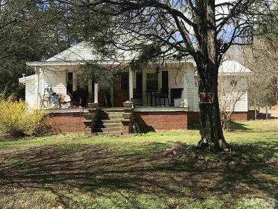 Siler City Single Family Home Contingent: 257 Briar Haven Lane