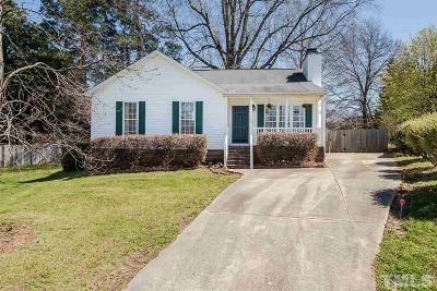 Wake Forest Single Family Home For Sale: 1205 Mondavi Woods Court