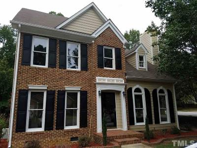 Cary NC Single Family Home For Sale: $269,000