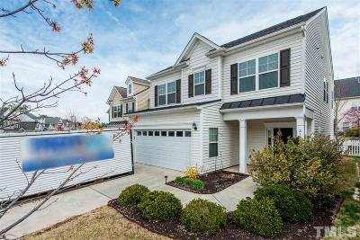 Morrisville Single Family Home Contingent: 215 Mainline Station Drive