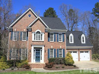 Raleigh Single Family Home For Sale: 8129 Glenbrittle Way