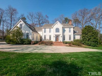Chapel Hill Single Family Home For Sale: 1054 Burning Tree Drive