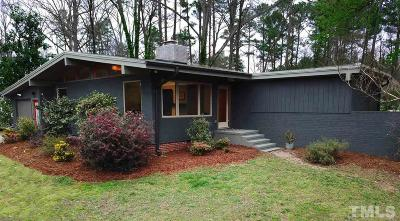 Chapel Hill Single Family Home For Sale: 410 N Estes Drive