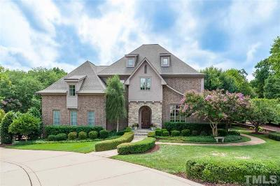 Raleigh NC Single Family Home For Sale: $1,290,000