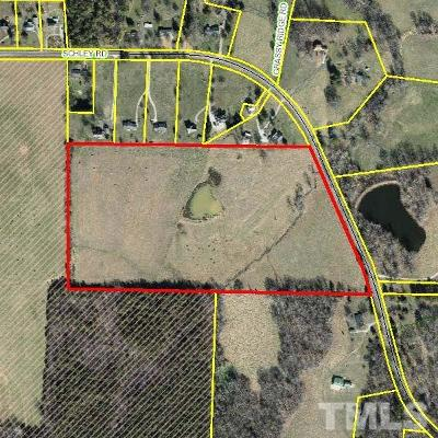 Orange County Residential Lots & Land For Sale: Schley Road