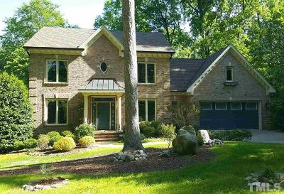 Raleigh NC Single Family Home For Sale: $875,000