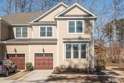 Chapel Hill Townhouse For Sale: 508 Lena Circle