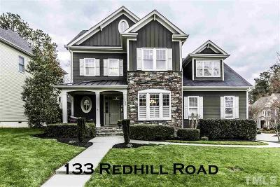 Wake County Single Family Home For Sale: 133 Redhill Road