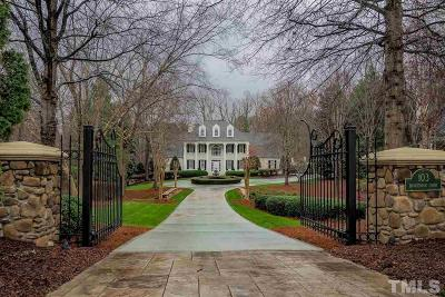 Cary Single Family Home Pending: 103 Bronzewood Court