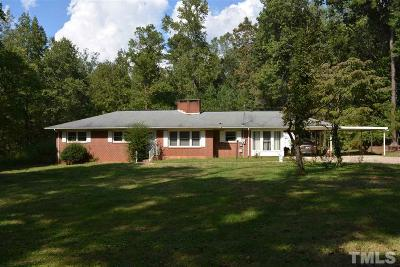 Siler City Single Family Home For Sale: 1924 W Third Street