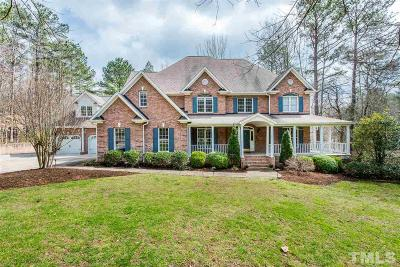 Raleigh Single Family Home For Sale: 9400 Macon Road
