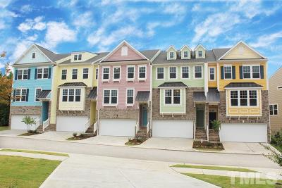 Wake County Townhouse For Sale: 535 Metro Station #5