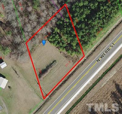 Johnston County Residential Lots & Land For Sale: Webb Street