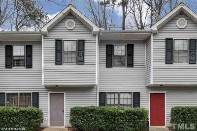 Cary Townhouse For Sale: 1017 Parkthrough Street