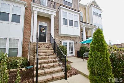 Raleigh Townhouse For Sale: 10102 Glen Autumn Road