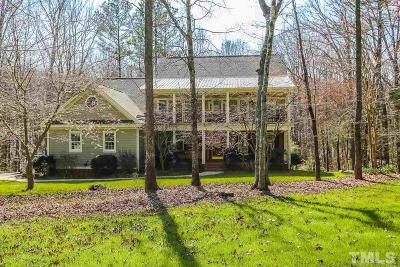 Chatham County Single Family Home For Sale: 115 Ross Drive
