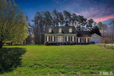 Zebulon Single Family Home For Sale: 2112 Herbert Drive