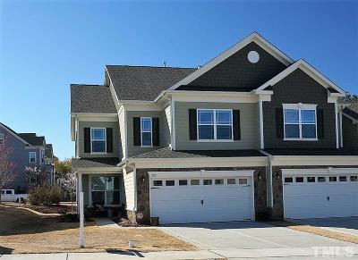 Wake County Townhouse For Sale: 123 Willow View Lane