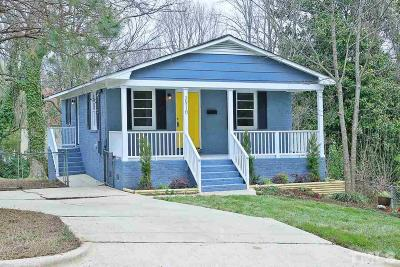 Wake County Single Family Home For Sale: 2910 Woods Place