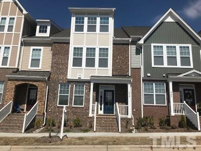 Cary Townhouse For Sale: 939 Rosepine Drive