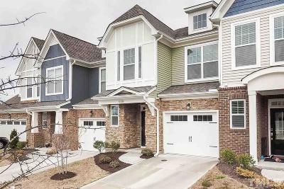Cary Townhouse For Sale: 4184 Vallonia Drive