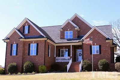 Johnston County Single Family Home For Sale: 1481 Reedy Creek Road