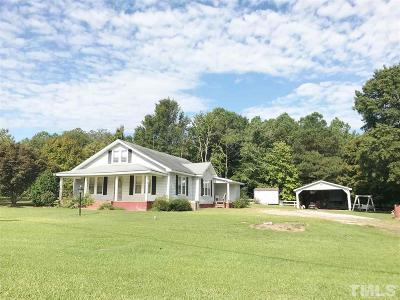 Single Family Home For Sale: 4841 N Nc 210 Highway