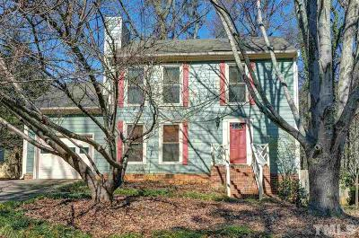 Cary Single Family Home Contingent: 1096 Balmoral Drive