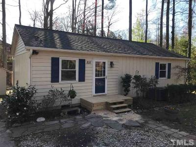 Cary Single Family Home Contingent: 815 Griffis Street