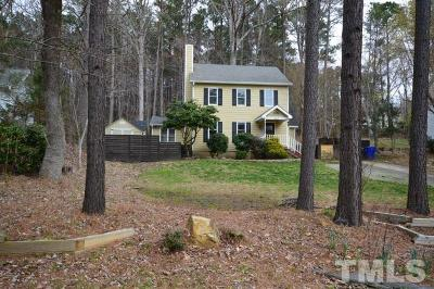 Chapel Hill Single Family Home Contingent: 225 Forbush Mountain Drive