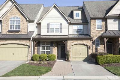 Cary NC Townhouse For Sale: $399,900
