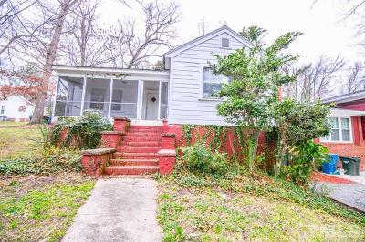 Durham Single Family Home For Sale: 2112 Concord Street