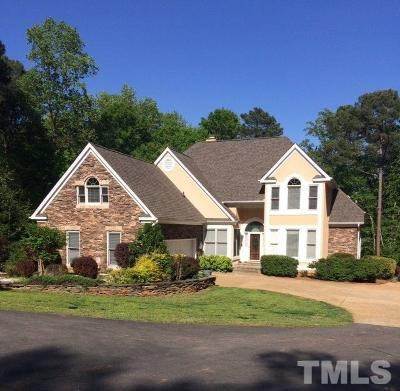 Raleigh Single Family Home Contingent: 11316 John Allen Road