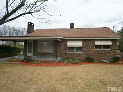 Johnston County Single Family Home Pending: 146 Galilee Road