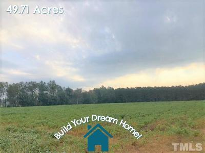 Harnett County Residential Lots & Land For Sale: Mamie Upchurch Road