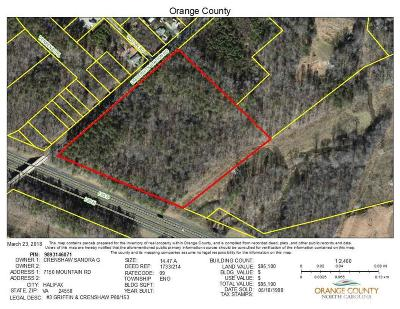 Durham Residential Lots & Land For Sale: University Station Road