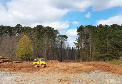 Apex Residential Lots & Land For Sale: 6209 Ten Ten Road